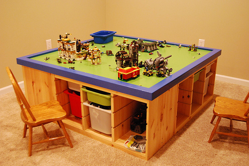 Lego table tp5k style for Table design lego