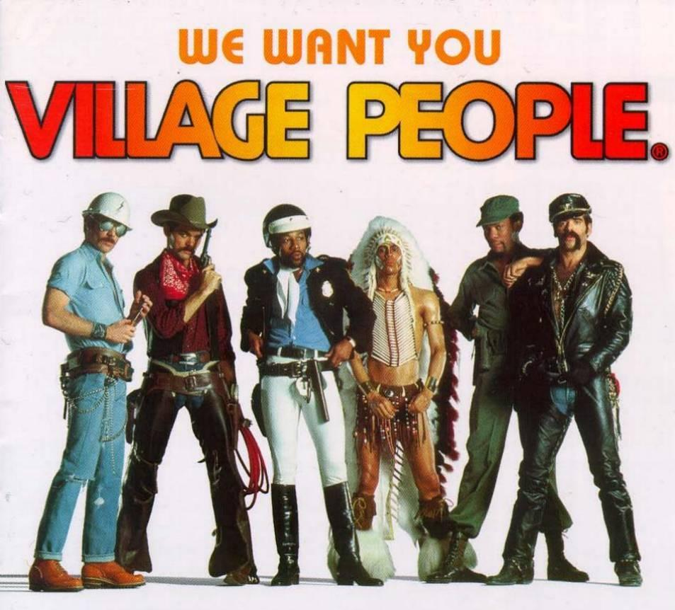 Village People - We Want You - Front